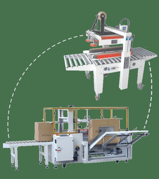 מכונות הקמת וסגירת קרטונים